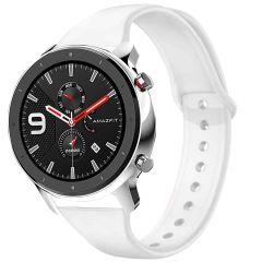 iMoshion Bracelet silicone Amazfit GTR - Blanc