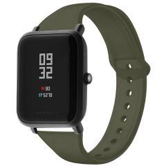 iMoshion Bracelet silicone Amazfit GTS / BIP - Vert foncé