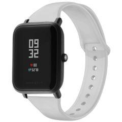 iMoshion Bracelet silicone Amazfit GTS / BIP - Gris