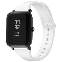 iMoshion Bracelet silicone Amazfit GTS / BIP - Blanc