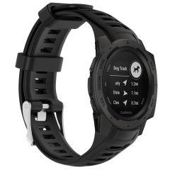 iMoshion Bracelet silicone Garmin Instinct - Noir