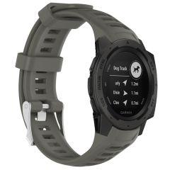 iMoshion Bracelet silicone Garmin Instinct - Gris