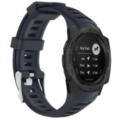 iMoshion Bracelet silicone Garmin Instinct - Bleu foncé