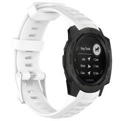 iMoshion Bracelet silicone Garmin Instinct - Blanc