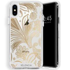 Selencia Coque très protectrice Zarya Fashion iPhone Xs / X