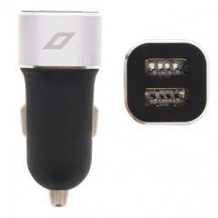 Accezz Dual USB Car Charger - 4,8A - Noir