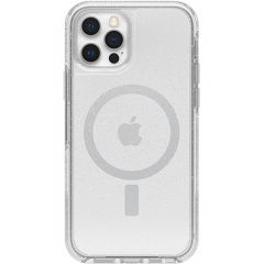 OtterBox Coque Symmetry Clear MagSafe iPhone 12 (Pro) - Stardust