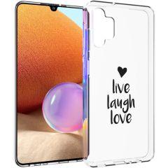 iMoshion Coque Design Samsung Galaxy A32 (4G) - Live Laugh Love