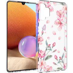 iMoshion Coque Design Samsung Galaxy A32 (4G) - Fleur - Rose