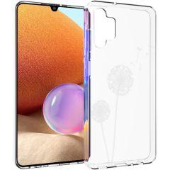 iMoshion Coque Design Samsung Galaxy A32 (4G) - Pissenlit - Blanc