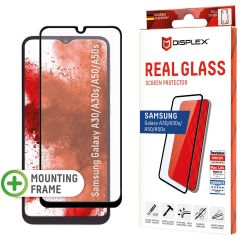 Displex Protection d'écran en verre durci Real Glass Full Cover Samsung Galaxy A50 / A30s - Noir