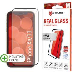 Displex Protection d'écran en verre durci Real Glass Full Cover iPhone 11 / Xr - Noir