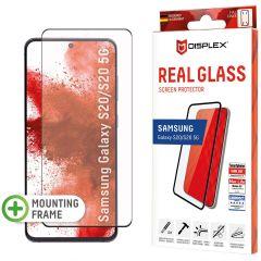 Displex Protection d'écran en verre durci Real Glass Fingerprint Sensor Samsung Galaxy S20