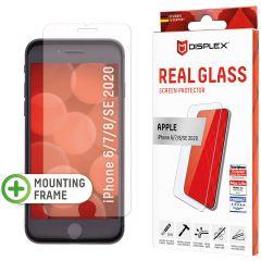 Displex Protection d'écran en verre durci Real Glass iPhone SE (2020) / 8 / 7 / 6(s)