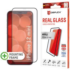Displex Protection d'écran en verre durci Real Glass Full Cover iPhone 12 Mini - Noir