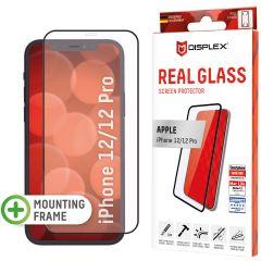 Displex Protection d'écran en verre durci Real Glass Full Cover iPhone 12 (Pro) - Noir