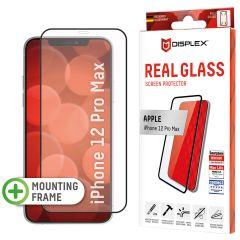 Displex Protection d'écran en verre durci Real Glass Full Cover iPhone 12 Pro Max - Noir