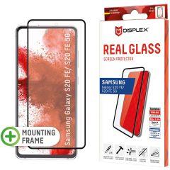 Displex Protection d'écran en verre durci Real Glass Full Cover Samsung Galaxy S20 FE - Noir