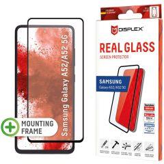 Displex Protection d'écran en verre durci Real Glass Full Cover Samsung Galaxy A52(s) (5G/4G) - Noir