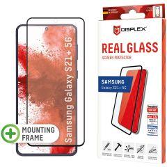 Displex Protection d'écran en verre durci Real Glass Full Cover Fingerprint Sensor Samsung Galaxy S21 Plus - Noir
