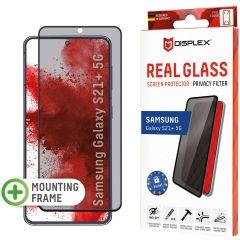 Displex Protection d'écran en verre durci Privacy Samsung Galaxy S21 Plus - Noir