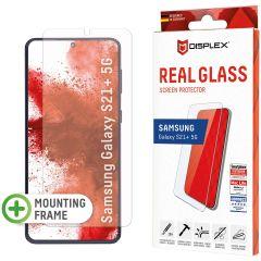 Displex Protection d'écran en verre durci Real Glass Fingerprint Sensor Samsung Galaxy S21 Plus