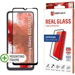 Displex Protection d'écran en verre durci Real Glass Full Cover Samsung Galaxy A32 (5G) / A12 - Noir