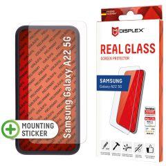 Displex Protection d'écran en verre durci Real Glass Samsung Galaxy A22 (5G)