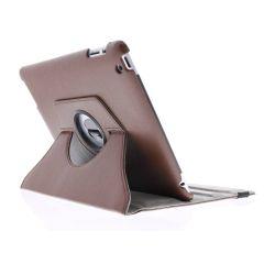 Étui de tablette portefeuille rotatif à 360° iPad 2 / 3 / 4