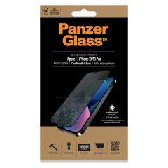 PanzerGlass Protection d'écran Privacy Case Friendly Anti-Bacterial iPhone 13 / 13 Pro - Noir