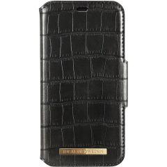 iDeal of Sweden Étui de téléphone portefeuille Capri iPhone 11 Pro Max - Black Croco