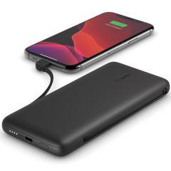 Belkin Batterie externe Boost↑Charge™ Plus + Câbles intégrés - 10.000 mAh - Noir