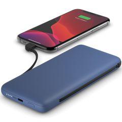 Belkin Batterie externe Boost↑Charge™ Plus + Câbles intégrés - 10.000 mAh - Bleu