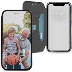 Conceptions portefeuille gel (une face) iPhone Xs / X