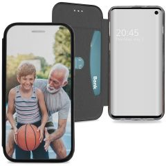 Conceptions portefeuille gel (une face) Samsung Galaxy S10