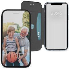 Conceptions portefeuille gel (une face) iPhone 12 (Pro)