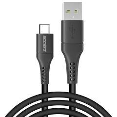 Accezz Câble USB-C vers USB - 2 mètre - Noir