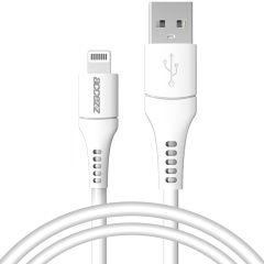 Accezz Câble Lightning vers USB certifié IMF - 1 mètre - Blanc