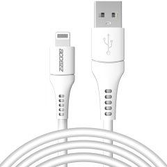 Accezz Câble Lightning vers USB certifié IMF - 2 mètres - Blanc