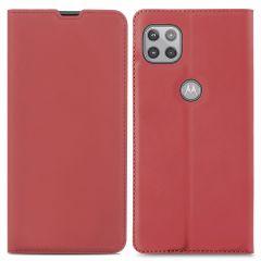 iMoshion Étui de téléphone Slim Folio Motorola Moto G 5G - Rouge