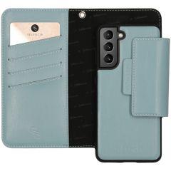 Selencia Étui de téléphone en cuir végétalien Samsung Galaxy S21 Plus