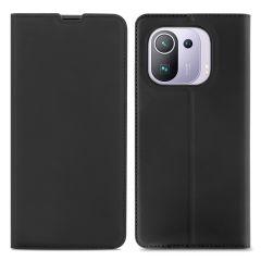 iMoshion Étui de téléphone Slim Folio Xiaomi Mi 11 Pro - Noir