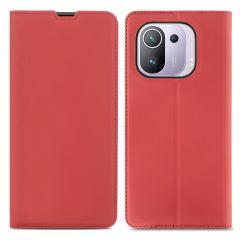 iMoshion Étui de téléphone Slim Folio Xiaomi Mi 11 Pro - Rouge