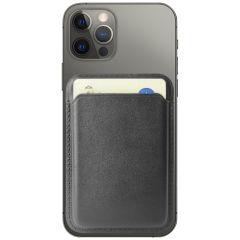 Accezz Porte-cartes portefeuille en cuir avec MagSafe - Noir