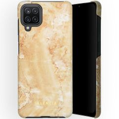 Selencia Coque Maya Fashion Samsung Galaxy A12 - Marble Sand