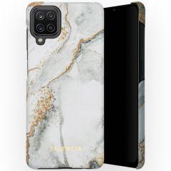 Selencia Coque Maya Fashion Samsung Galaxy A12 - Marble Stone