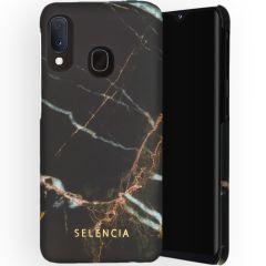 Selencia Coque Maya Fashion Samsung Galaxy A20e - Marble Black