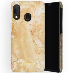 Selencia Coque Maya Fashion Samsung Galaxy A20e - Marble Sand