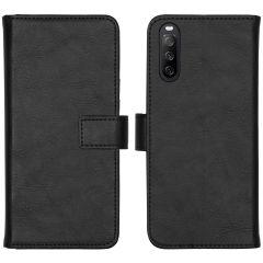 iMoshion Étui de téléphone portefeuille Luxe Sony Xperia 10 III