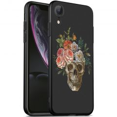 iMoshion Coque Design iPhone Xr - Skull - Multicolor